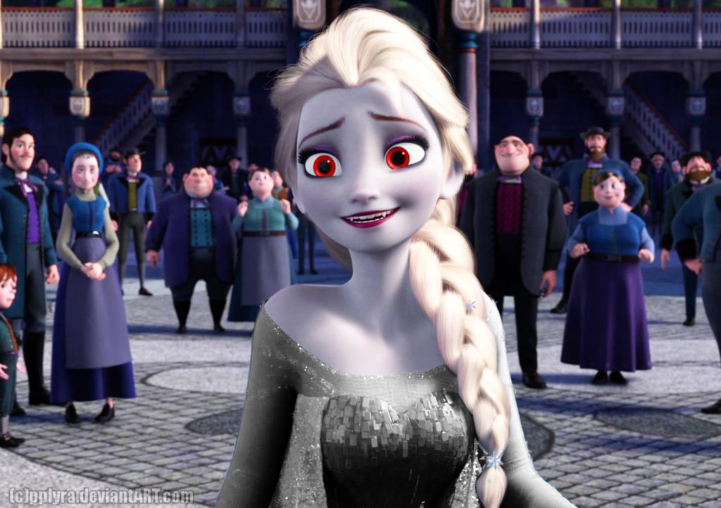 Vampire Elsa by PPLyra