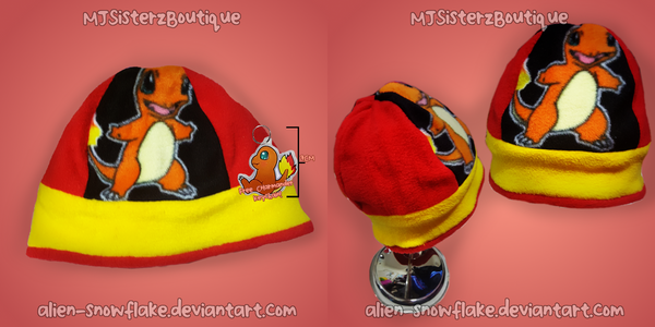Pokemon Charmander Hat by Alien-Snowflake