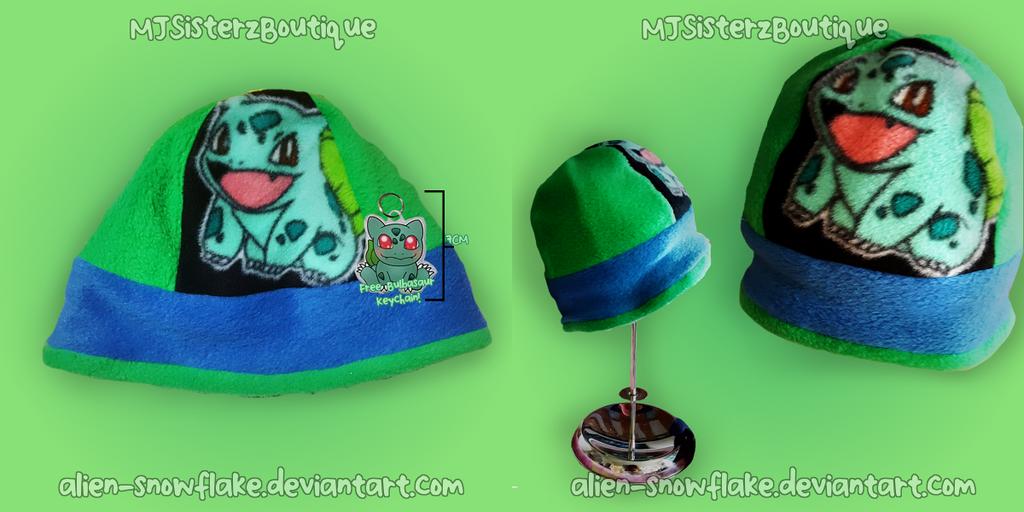 Pokemon Bulbasaur Hat by Alien-Snowflake