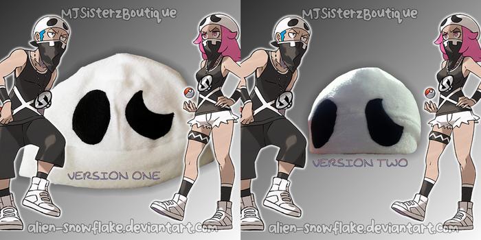 Pokemon Team Skull Grunt Fleece Beanie Hat Cosplay