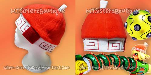 Arms MinMin Fleece Beanie Hat Cosplay Handmade