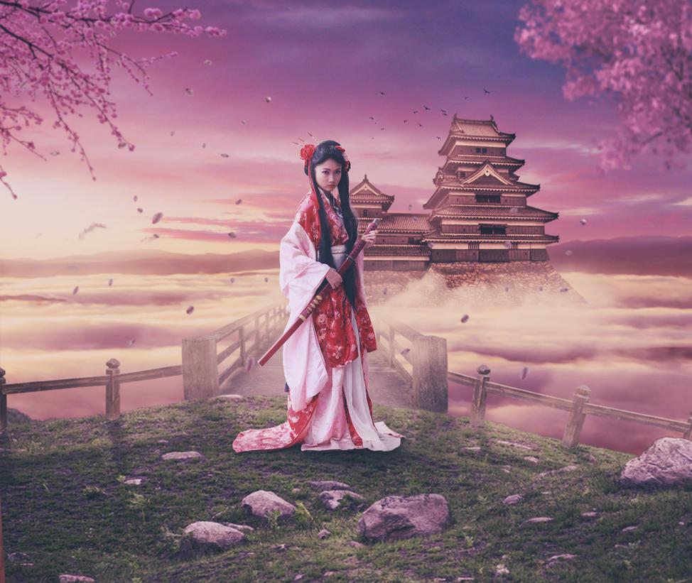 Lady Samurai by Lekonal202