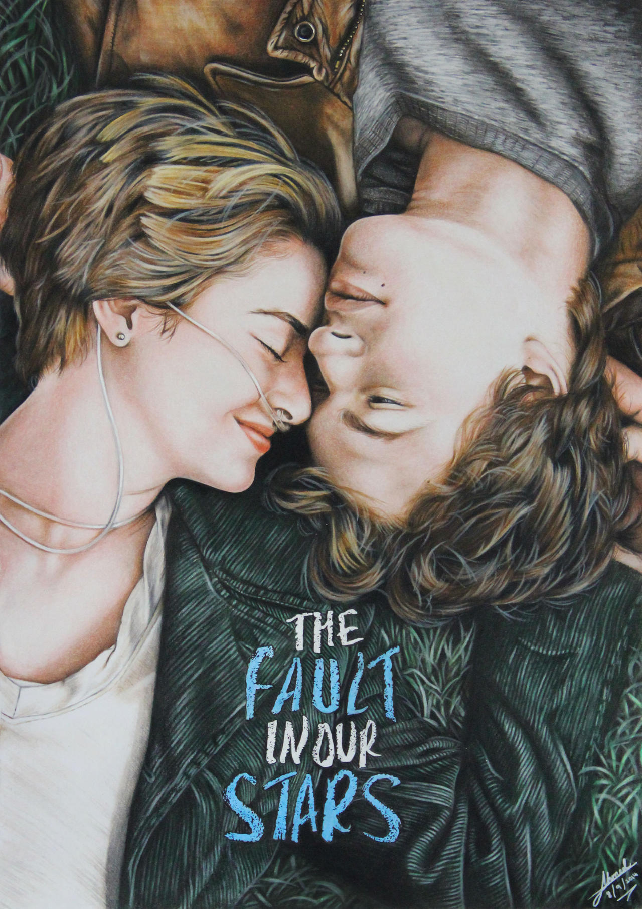 Hazel and Gus (The Fault in Our Stars) by hamood96 on ...