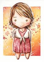 GLEE Quinn Fabray chibi by martalopezfdez
