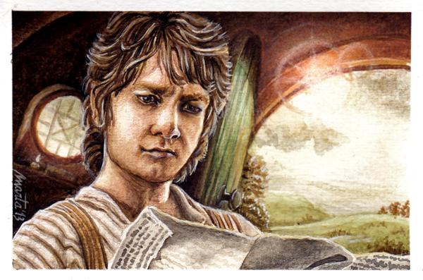 Bilbo Baggins by martalopezfdez