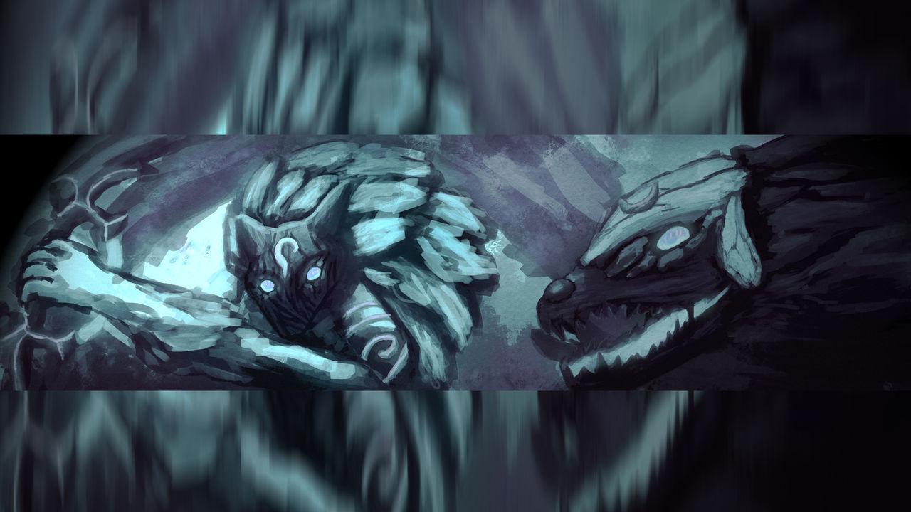 Kindred League Of Legends Wallpaper By Dutchdinosaur On Deviantart