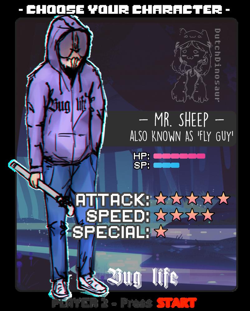 Battlecard - Mr. Sheep by DutchDinosaur