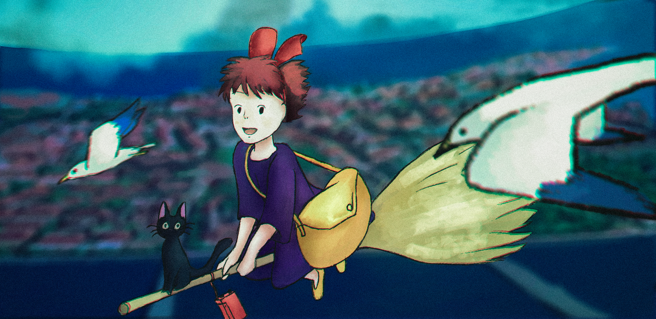 kiki's delivery service by DutchDinosaur