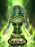 Queen Azshara as Mistress of Legion