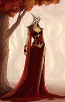 Azshara high elf by ammatice