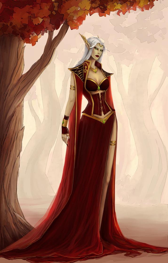 Blood elf and night elf threesome in whorecraft vr - 3 part 9