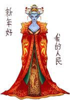 Azshara for Lunar Festival by ammatice