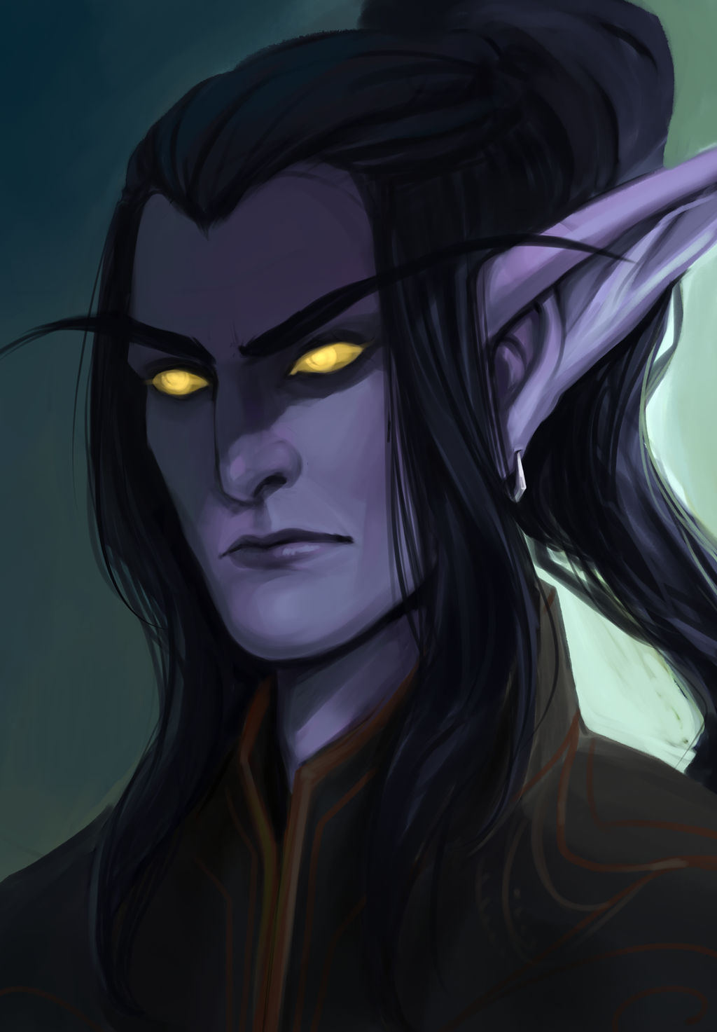 Young Illidan by ammatice