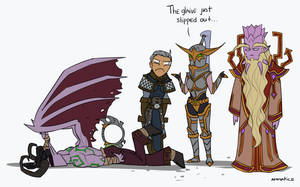 Maiev did nothing.. by ammatice