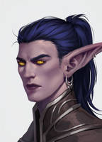 Young Illidan Stormrage by ammatice