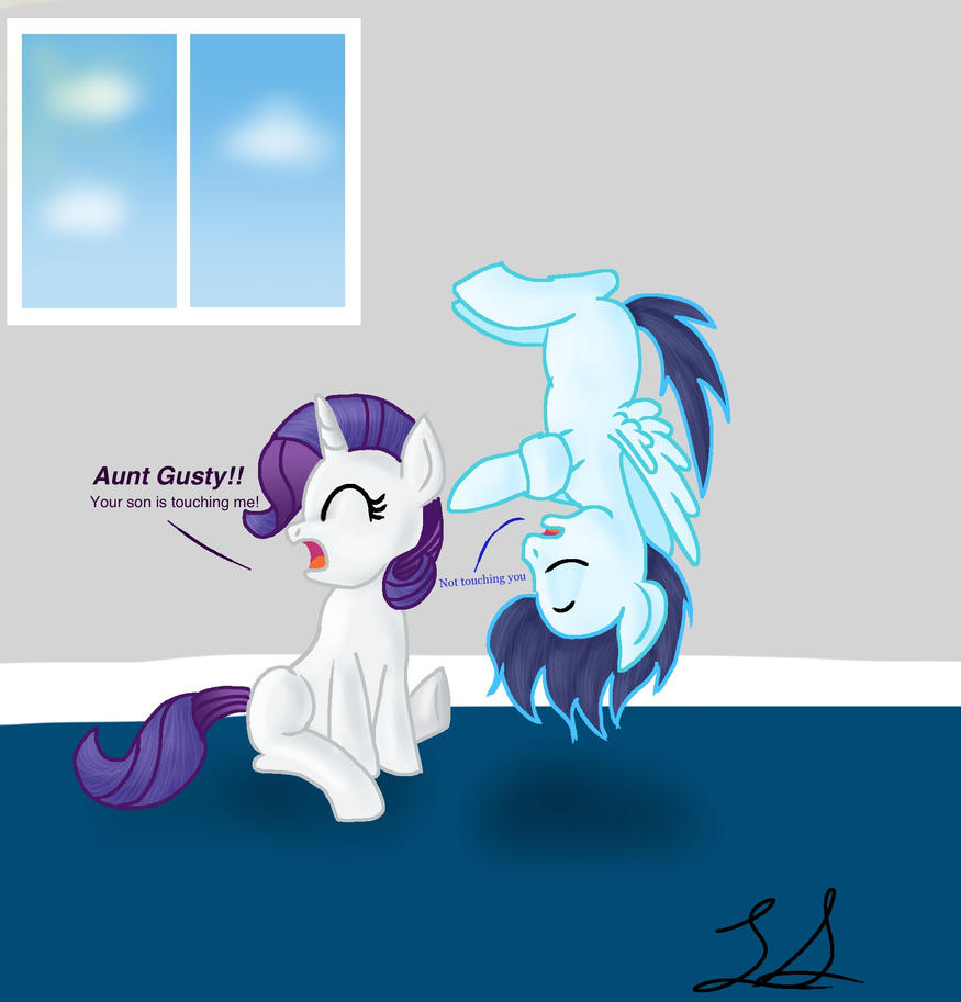 Soarin and Rarity are cousins. by some-pegasister on ...