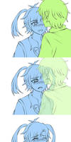 HaruTaka - The Moment You're not Here by XoraXIV