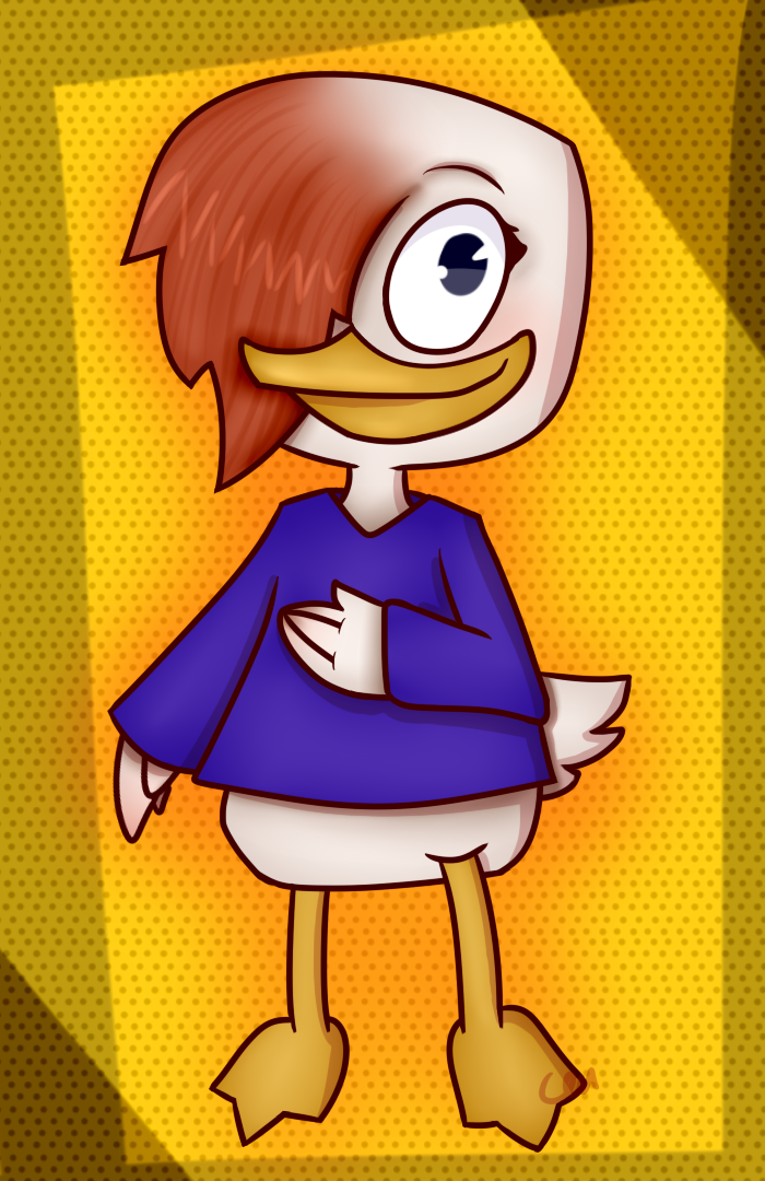 Duck Bianca by Catcakemu