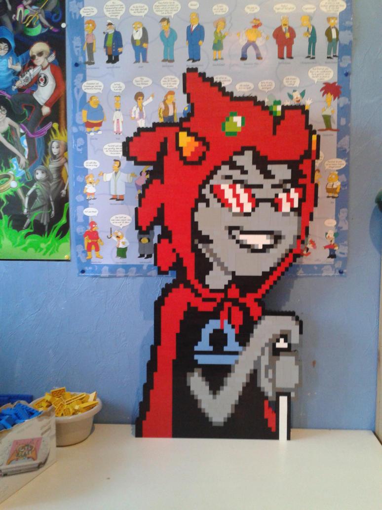 LEGO Terezi Pyrope by ProfMadness