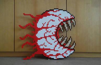 LEGO  Eye of Cthulhu by ProfMadness