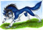Sasuke wolf form