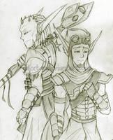 My Living Legacy -Sketch- by HybridAlchemist