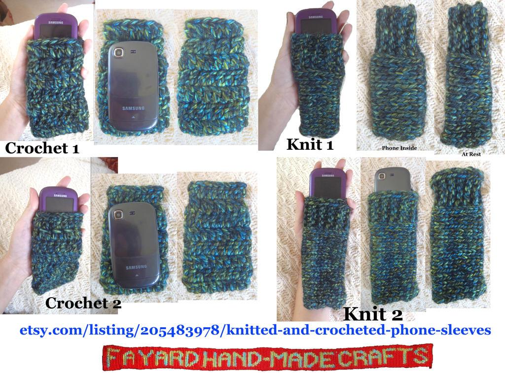 Simple Phone Sleeves by FayardHandMadeCrafts