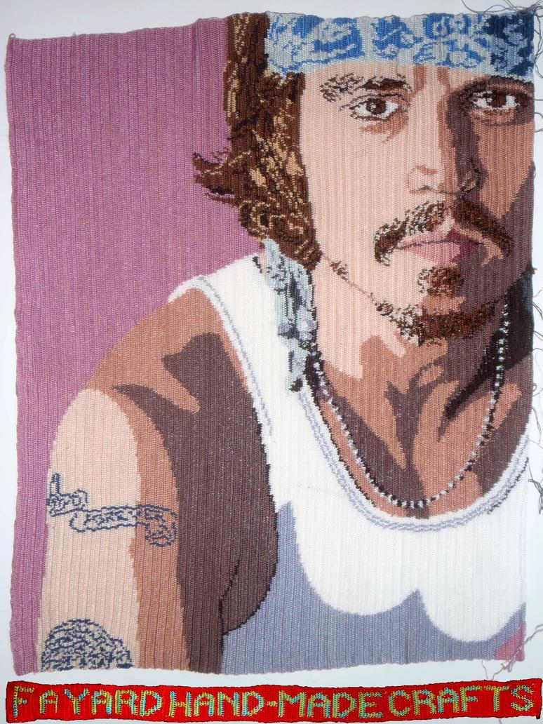 Johnny Depp MiCrochet Poster, Part 8/10 by FayardHandMadeCrafts