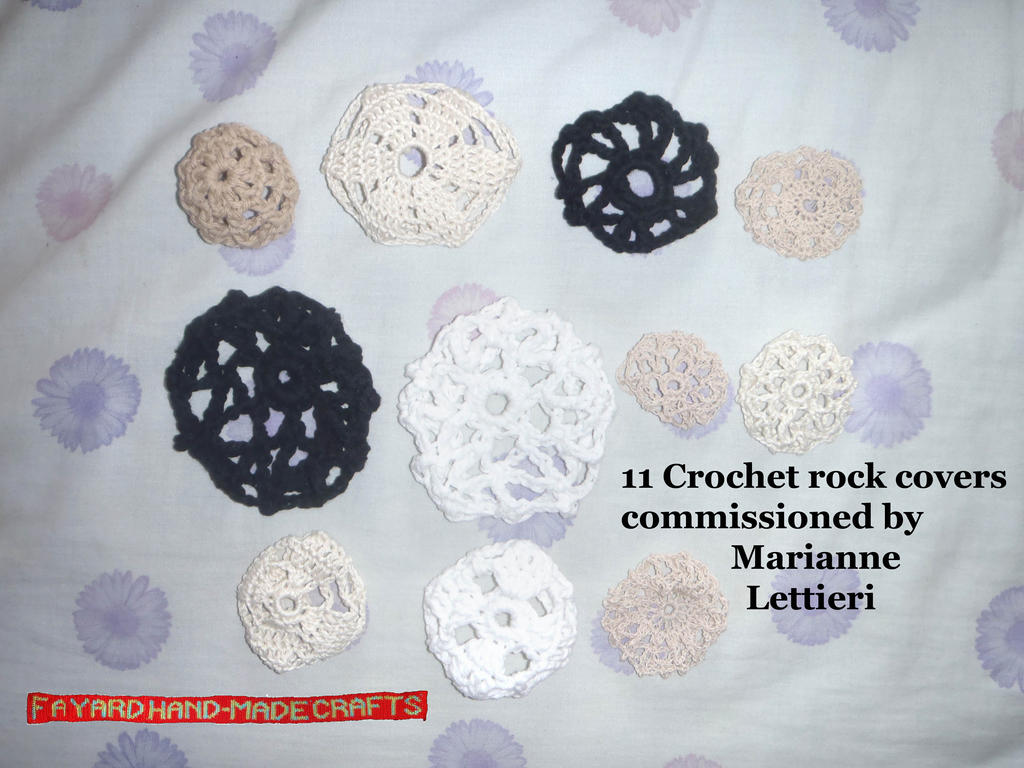 11 More Rock Covers by FayardHandMadeCrafts