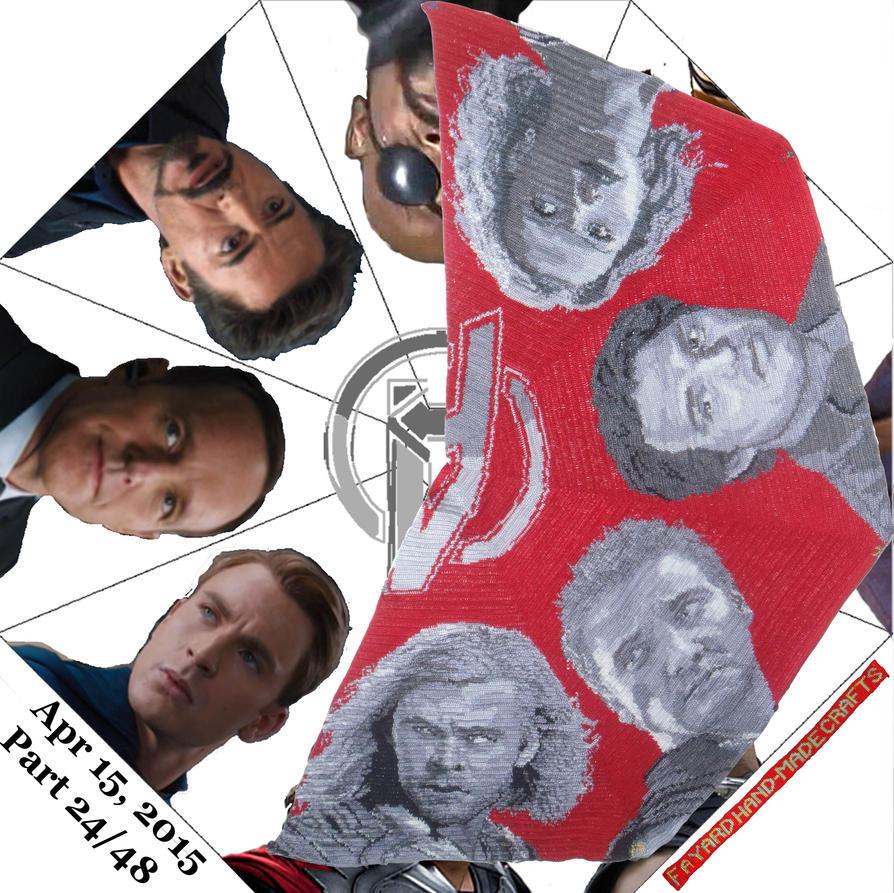 Avengers Octagon: Thor, Part 24/48 by FayardHandMadeCrafts