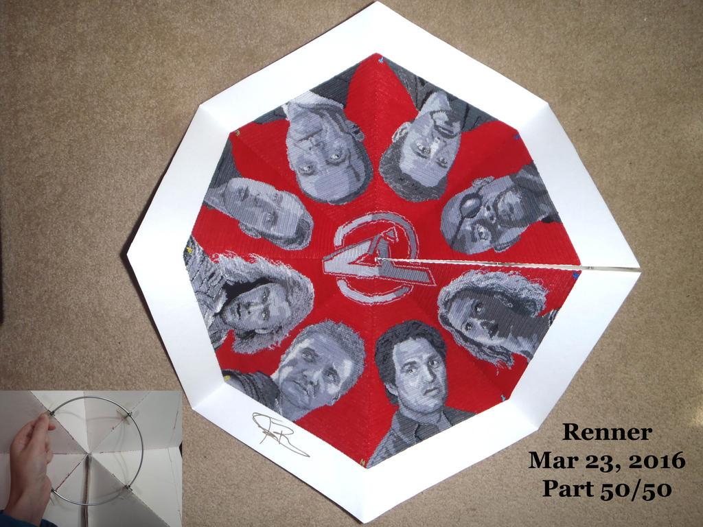 Avengers Octagon: Fan, Part 50/50 by FayardHandMadeCrafts