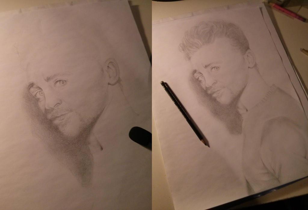 Tom Hiddleston Portrait by staudensellerie
