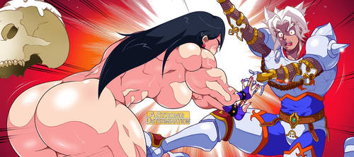A Strong Determination 2 - Super Strong Sorceress by Rukasusan