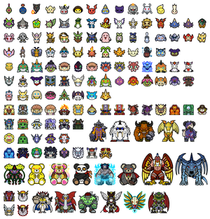 Current Digimon Token Collection
