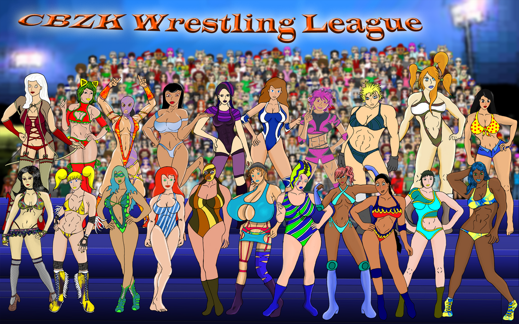 CBZK Wrestling League by xZeroMan