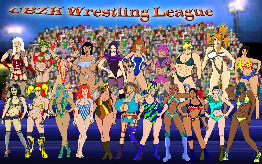 CBZK Wrestling League by xZeroMan