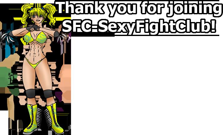 SFC-SexyFightClub Join Thank You by xZeroMan