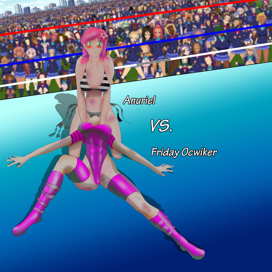 Anuriel vs Friday: Facesitting by xZeroMan