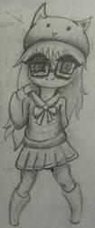 Chibi Girl by xZeroMan