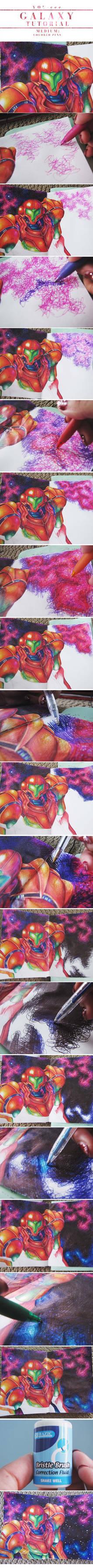 Metroid: Galaxy Colored Pen Walkthrough
