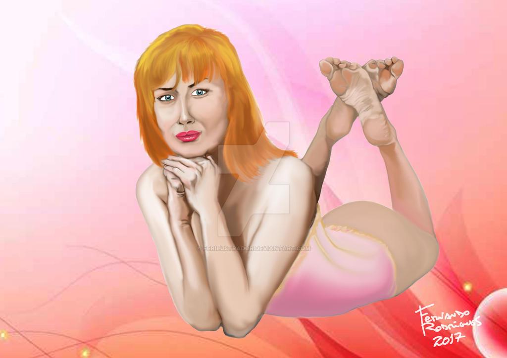 Blonde Diva 90
