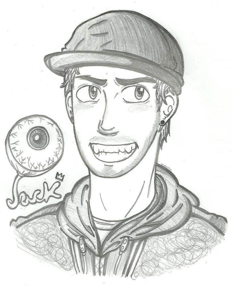 Jacksepticeye By Azuneechan Jacksepticeye