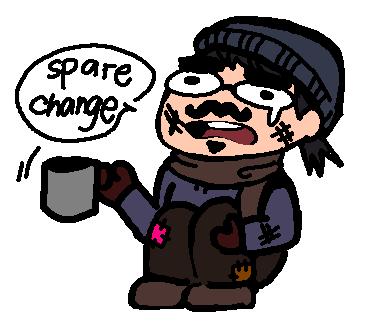 Spare Change by azuneechan