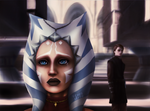 Ahsoka leaves the Jedi Order - Fan art