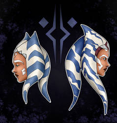 Ahsoka - The Clone Wars / Rebels - Fan art by Ires-Myth