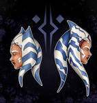 Ahsoka - The Clone Wars / Rebels - Fan art