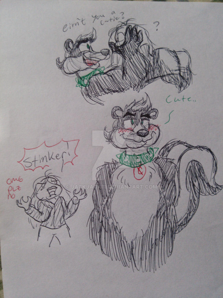 Stinker is twitter patted by JackJack71
