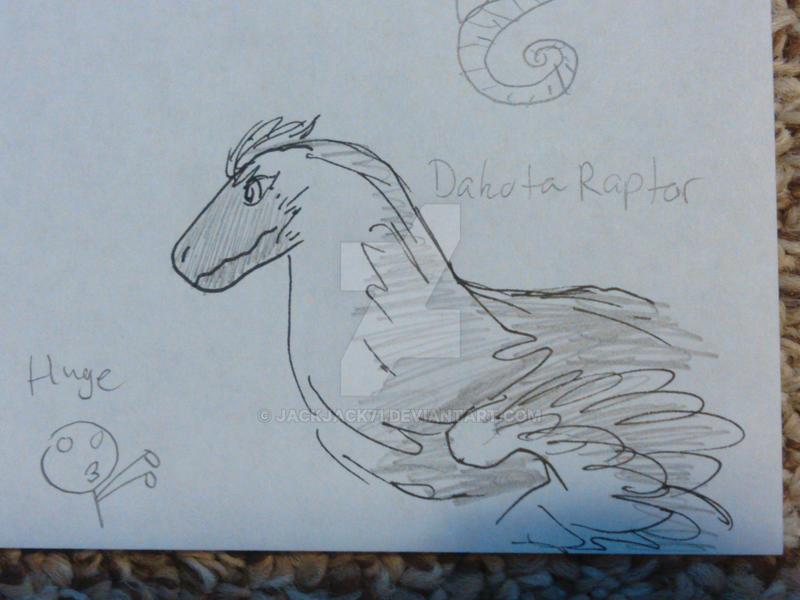 Dakotaraptor by JackJack71