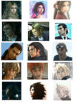 FF 13 versus comparisons