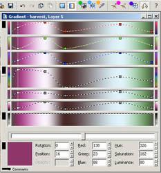 UF gradient demonstration